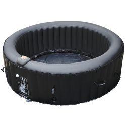 BeneoSpa portatile spa gonfiabile, 4 posti, idromassaggio, Riscaldatore, nero