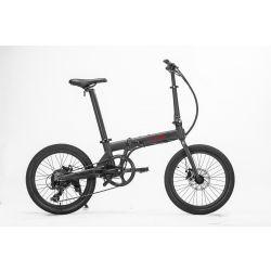 """Hoobike Bicicletta Elettrica Pieghevole, 250 W, 36V 5,2Ah Batteria ricaricabile certificata UL agli ioni di litio, ruote da 20"""", freni a disco, peso 14 kg"""