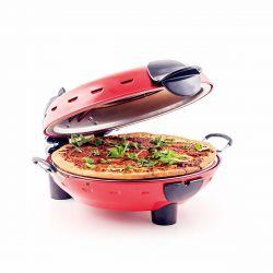 Richard Bergendi Stonebake Pizza Oven, Forno pizza, Fornetti elettrici per pizza, Pietra calda, Rosso