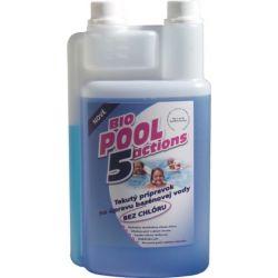 BioPool 5 liquido senza cloro per il trattamento dell'acqua della piscina