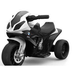 BMW S 1000 RR Triciclo, motociclo a batteria, 3 ruote, con licenza, 1x motore, batteria 6V, Nero