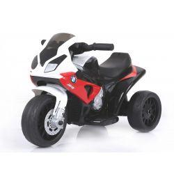 BMW S 1000 RR Triciclo, motociclo a batteria, 3 ruote, con licenza, 1x motore, batteria 6V