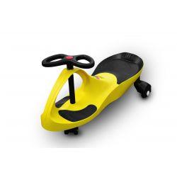RIRICAR Giallo, Auto Serpeggiante, per bambini con ruote in PU silenziose