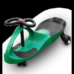 RIRICAR Verde Auto Serpeggiante, per bambini con ruote in PU silenziose