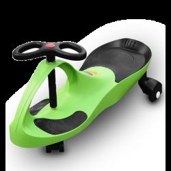 RIRICAR Lime, Auto Serpeggiante, per bambini con ruote in PU silenziose