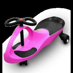 RIRICAR Rosa, Auto Serpeggiante, per bambini con ruote in PU silenziose