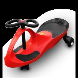 RIRICAR Rosso, Auto Serpeggiante, per bambini con ruote in PU silenziose